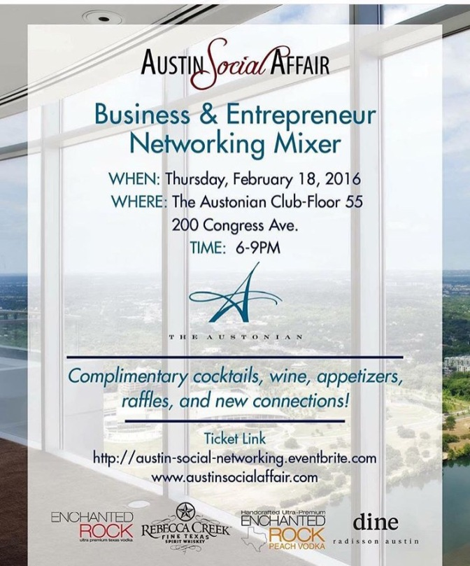 Business Mixer @ The Austonian • Austin Social Affair