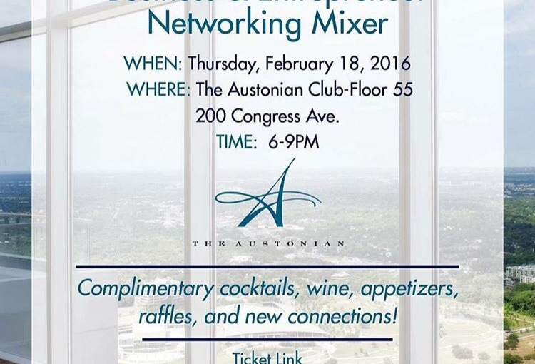 Business Mixer @ The Austonian • Austin Social Affair